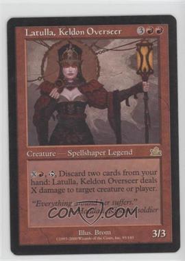 2000 Magic: The Gathering - Prophecy - Booster Pack [Base] #95 - Latulla, Keldon Overseer