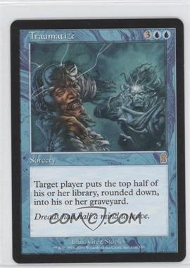 2001 Magic: The Gathering - Odyssey - Booster Pack [Base] #110 - Traumatize