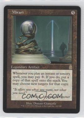 2001 Magic: The Gathering - Odyssey - Booster Pack [Base] #303 - Mirari