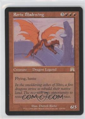 2002 Magic: The Gathering - Onslaught - Booster Pack [Base] #224 - Rorix Bladewing