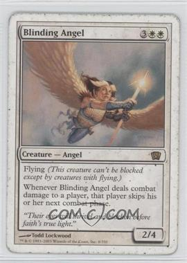 2003 Magic: The Gathering - Core Set: 8th Edition - Booster Pack [Base] #8 - Blinding Angel