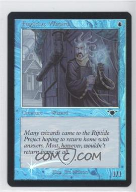 2003 Magic: The Gathering - Legions - Booster Pack [Base] - Foil #38 - Fugitive Wizard