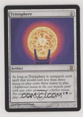 2004 Magic: The Gathering - Darksteel - Booster Pack [Base] #154 - Trinisphere