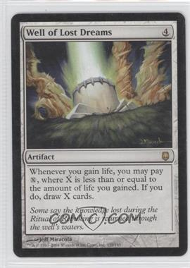 2004 Magic: The Gathering - Darksteel - Booster Pack [Base] #159 - Well of Lost Dreams