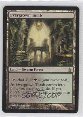 2005 Magic: The Gathering - Ravnica: City of Guilds - Booster Pack [Base] #279 - Overgrown Tomb