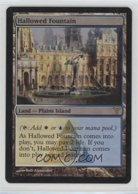 2006 Magic: The Gathering - Dissension - Booster Pack [Base] - Foil #174 - Hallowed Fountain