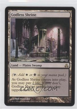 2006 Magic: The Gathering - Guildpact - Booster Pack [Base] #157 - Godless Shrine