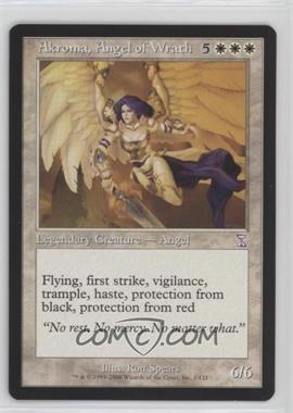 2006 Magic: The Gathering - Time Spiral: - Timeshifted #1 - Akroma, Angel of Wrath