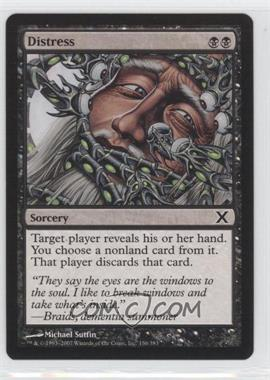 2007 Magic: The Gathering - Core Set: 10th Edition - Booster Pack [Base] #136 - Distress