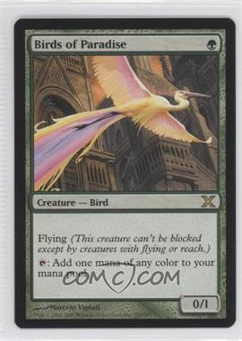 2007 Magic: The Gathering - Core Set: 10th Edition - Booster Pack [Base] #252 - Birds of Paradise