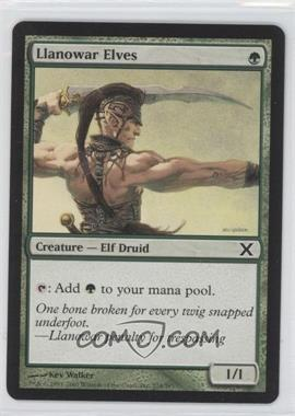2007 Magic: The Gathering - Core Set: 10th Edition - Booster Pack [Base] #274 - Llanowar Elves