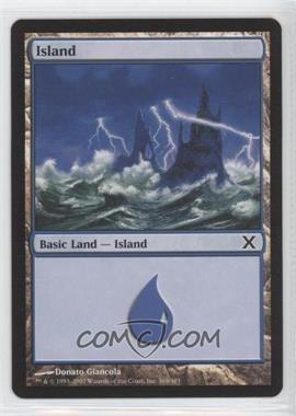 2007 Magic: The Gathering - Core Set: 10th Edition - Booster Pack [Base] #368 - Island
