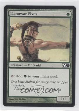2010 Magic: The Gathering - Core Set: 2011 - Booster Pack [Base] #184 - Llanowar Elves