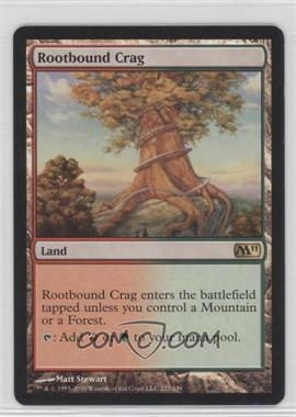 2010 Magic: The Gathering - Core Set: 2011 - Booster Pack [Base] #227 - Rootbound Crag