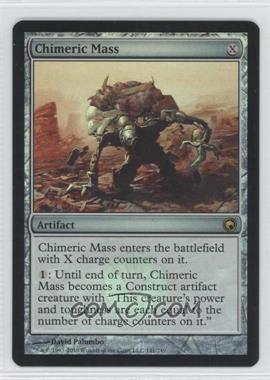 2010 Magic: The Gathering - Scars of Mirrodin - Booster Pack [Base] - Foil #141 - Chimeric Mass