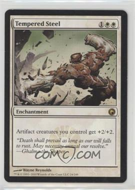 2010 Magic: The Gathering - Scars of Mirrodin - Booster Pack [Base] #24 - Tempered Steel