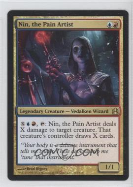 2011 Magic: The Gathering - - Commander Format #213 - Nin, the Pain Artist