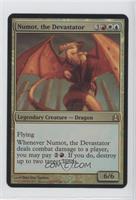 Numot, the Devastator (Oversized Foil)