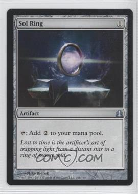 2011 Magic: The Gathering - - Commander Format #261 - Sol Ring