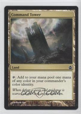 2011 Magic: The Gathering - - Commander Format #269 - Command Tower