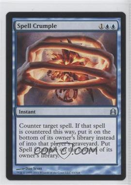 2011 Magic: The Gathering - - Commander Format #63 - Spell Crumple