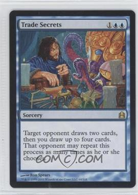 2011 Magic: The Gathering - - Commander Format #64 - Trade Secrets