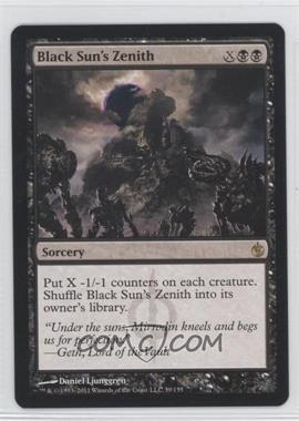 2011 Magic: the Gathering - Mirrodin Besieged - Booster Pack [Base] #39 - Black Sun's Zenith
