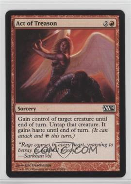 2013 Magic: The Gathering - Core Set: 2014 - Booster Pack [Base] #125 - Act of Treason