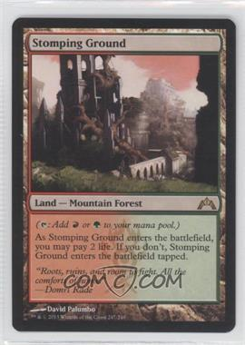 2013 Magic: The Gathering - Gatecrash - Booster Pack [Base] #247 - Stomping Ground