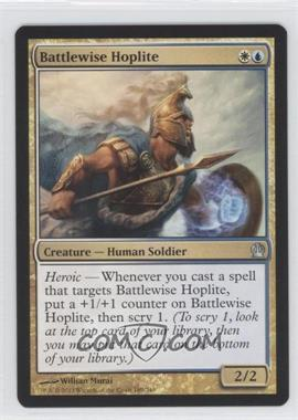 2013 Magic: The Gathering - Theros - Booster Pack [Base] #189 - Battlewise Hoplite