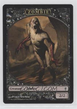 2014 Magic: The Gathering - Conspiracy - Booster Pack [Base] #T3 - Token - Zombie