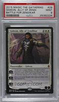 Gideon, Ally of Zendikar [PSA9MINT]