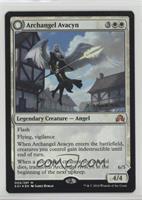 Archangel Avacyn // Avacyn, the Purifier (Prerelease Date Stamp)
