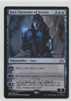 Jace, Unraveler of Secrets (Prerelease Date Stamp)