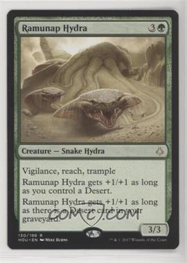2017 Magic: The Gathering - Hour of Devastation - Base Set #130 - Ramunap Hydra