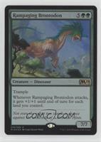 Rampaging Brontodon (Gift Pack Promo)
