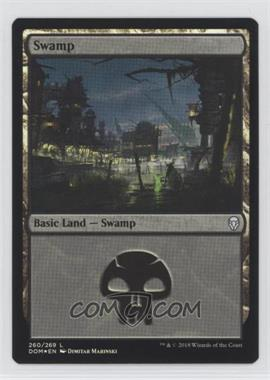 2018 Magic: The Gathering - Dominaria - Base Set - English Foil #260 - Swamp