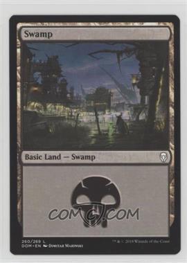 2018 Magic: The Gathering - Dominaria - Base Set - English #260 - Swamp
