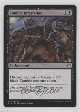 2019 Magic: The Gathering Commander Format - 2019 Edition #132 - Zombie Infestation