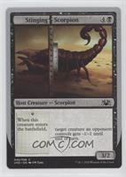 Stinging Scorpion