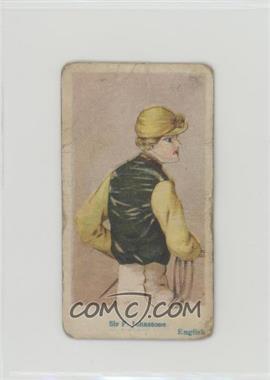 1912 American Caramel Jockey Caramels - E47 #SFJO - Sir F. Johnstone [Poor]