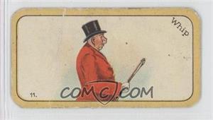 1926 Carreras The Black Cat Greyhound Racing Game - Tobacco [Base] #11 - Whip [GoodtoVG‑EX]