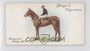 1933 Player's Derby and Grand National Winners - Tobacco [Base] #14 - Humorist