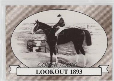 1991 Horse Star Kentucky Derby - [Base] #19 - Lookout