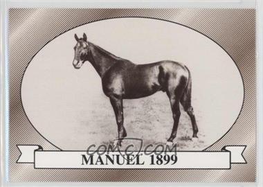 1991 Horse Star Kentucky Derby - [Base] #25 - Manuel 1899