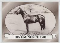 His Eminence 1901