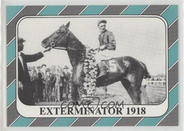 1991 Horse Star Kentucky Derby - [Base] #44 - Exterminator