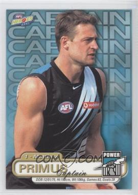 2001 Elite Sports AFL Heroes - [Base] #91 - Matthew Primus