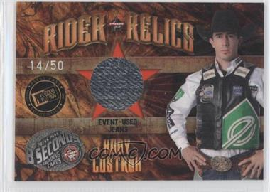 2009 Press Pass 8 Seconds - Rider Relics - Holofoil #RR-KL2 - Kody Lostroh /50