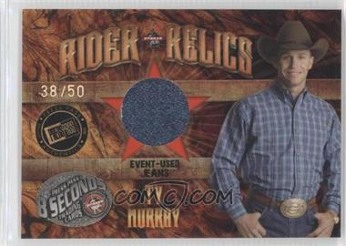 2009 Press Pass 8 Seconds - Rider Relics - Holofoil #RR-TM2 - Ty Murray /50